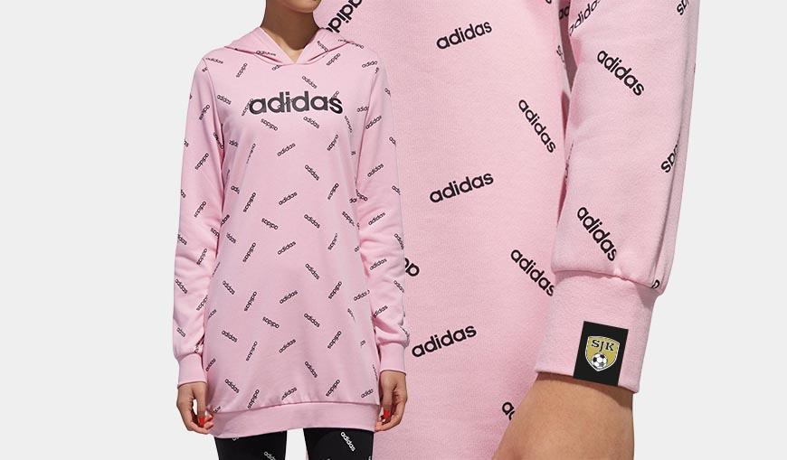 Adidas Pink Hoody