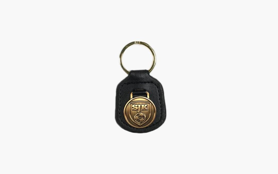Nahkainen SJK-avaimenperä