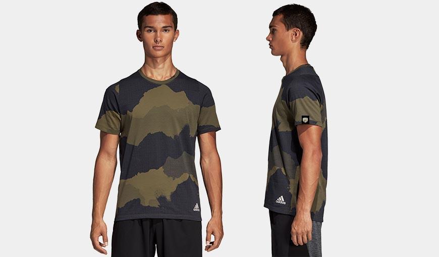 Adidas Camo-t-paita