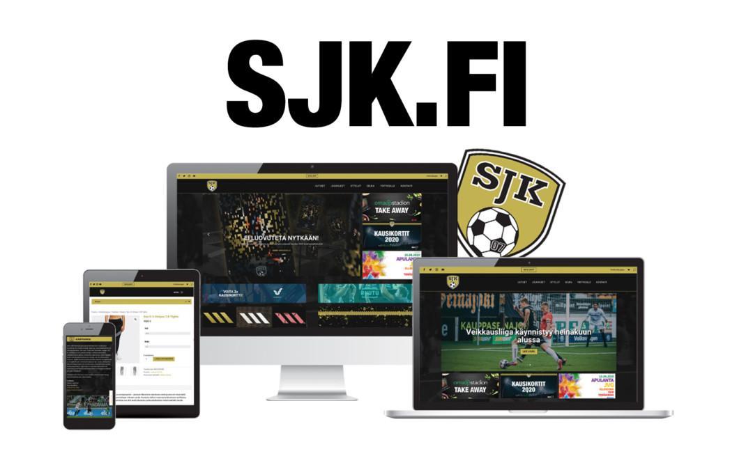 Uudistettu SJK.fi on nyt avattu