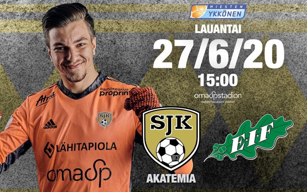 Ykkönen starttaa lauantaina SJK Akatemia vs. EIF -ottelulla