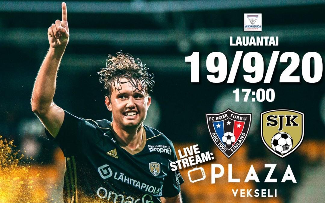 Lauantaina FC Inter – SJK klo 17:00