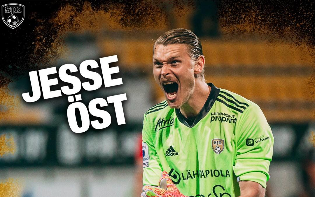 Jesse Öst jatkaa SJK:ssa kauden 2022 loppuun