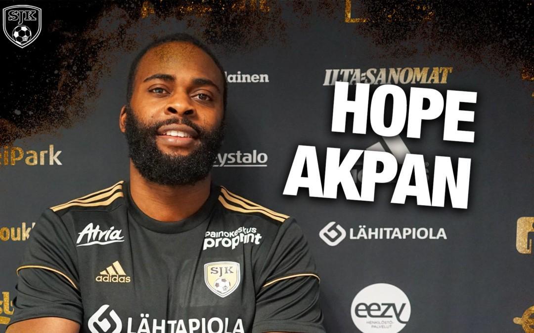 Hope Akpanista uusi toivo SJK:n keskikentälle