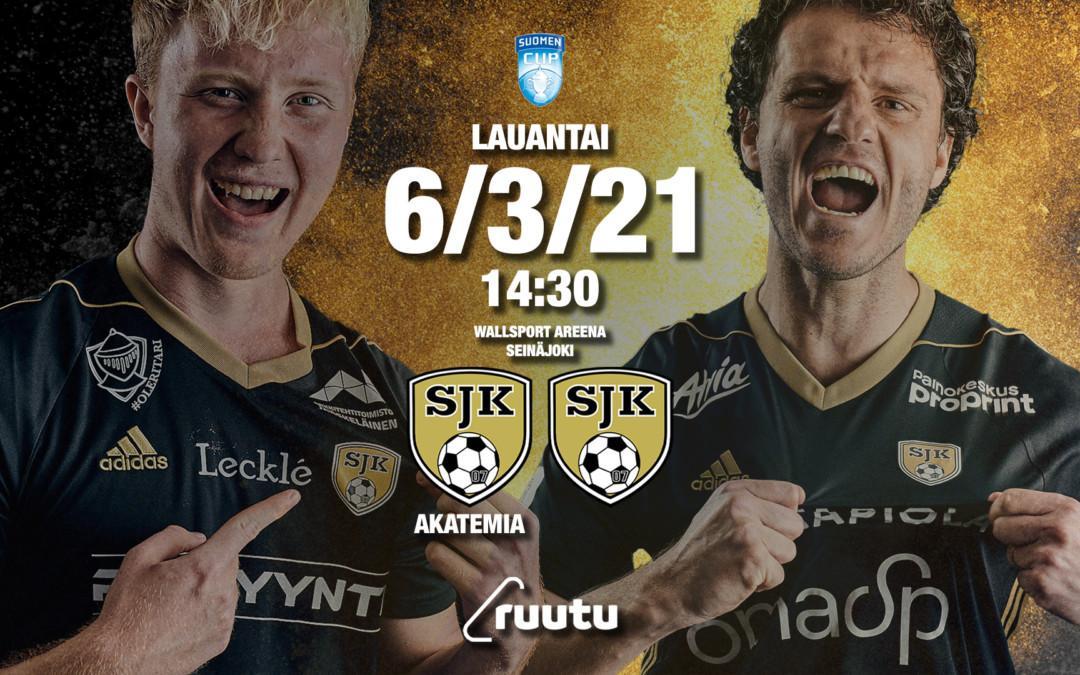 SJK Akatemia ja SJK kohtaavat Suomen cupissa