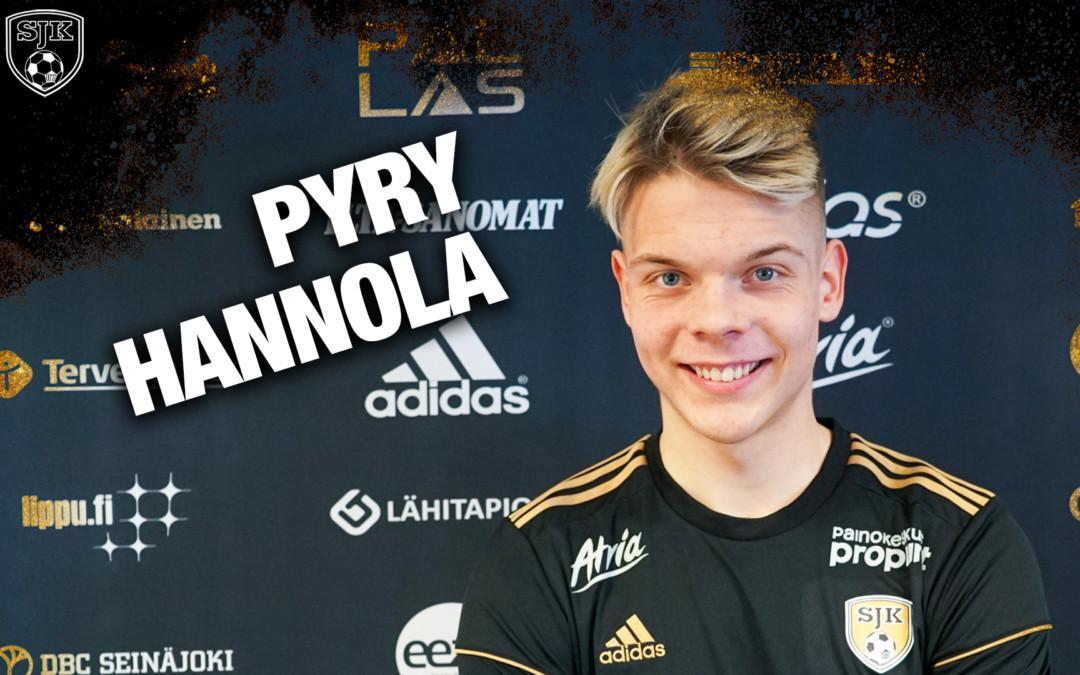 Pyry Hannola SJK-paitaan kaudeksi 2021