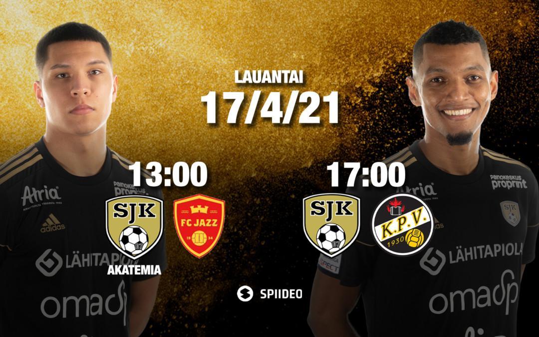 Lauantaina tuplapelipäivä – SJK ja SJK Akatemia OmaSp Stadionilla