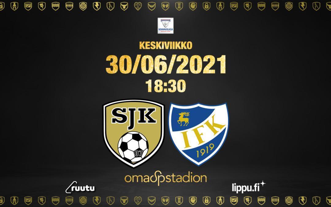 Kesäkuu päätökseen SJK – IFK Mariehamn ottelulla
