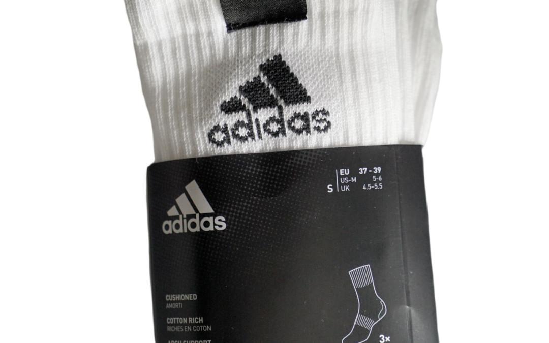 Adidas sukat 3 paria logolla