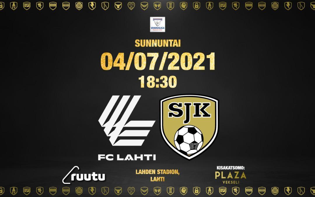 Sunnuntaina FC Lahti vastassa vierasottelussa