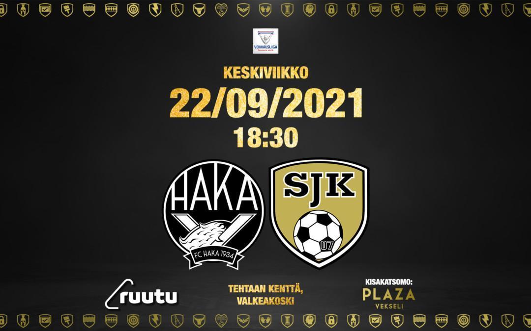 Otteluennakko FC Haka – SJK 22.09.2021
