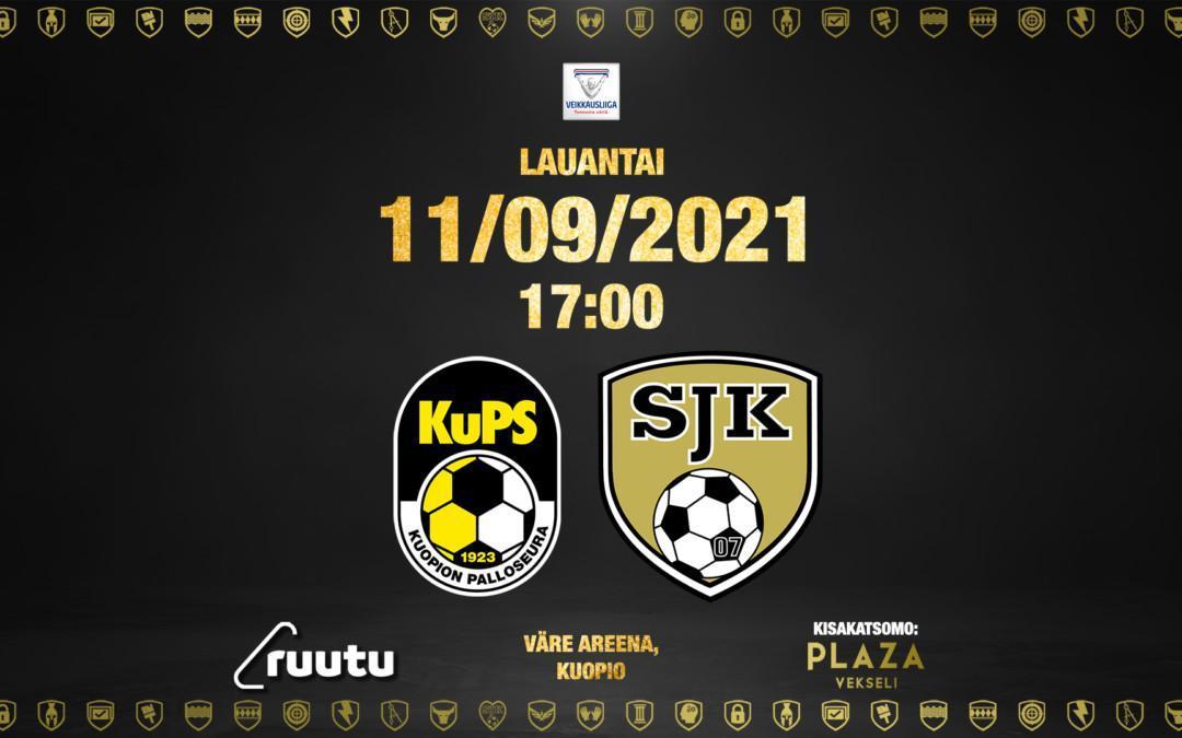 Otteluennakko: KuPS – SJK 11.09.2021