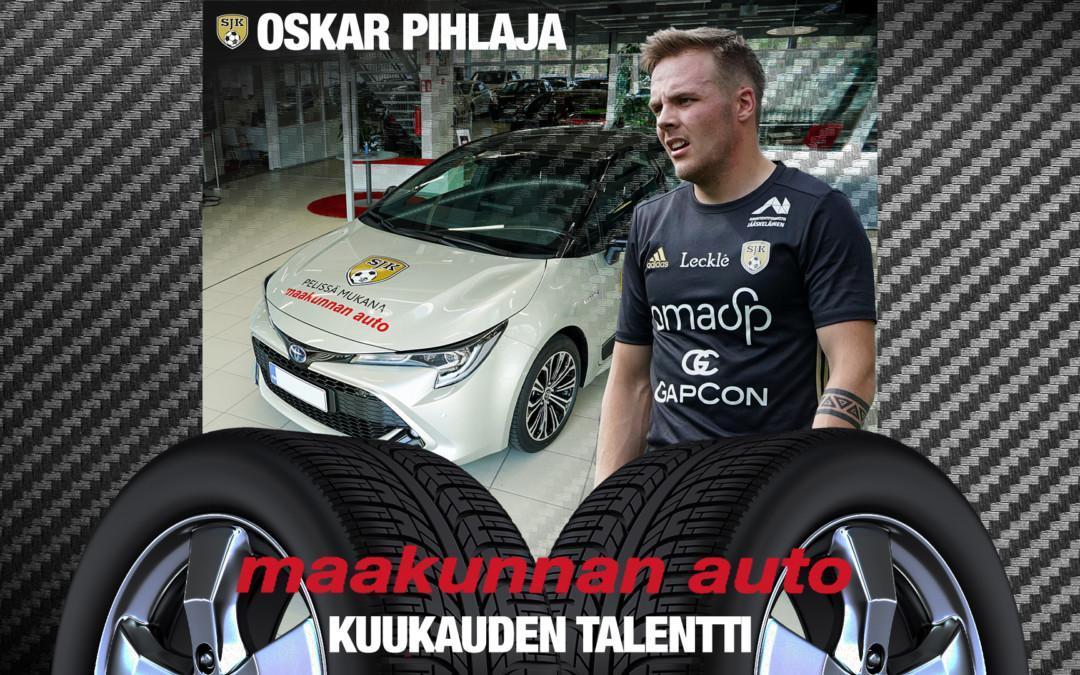 Maakunnan Auton Kuukauden Talentti: Oskar Pihlaja